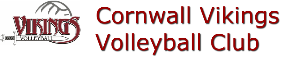 CORNWALL VIKINGS <br />VOLLEYBALL CLUB